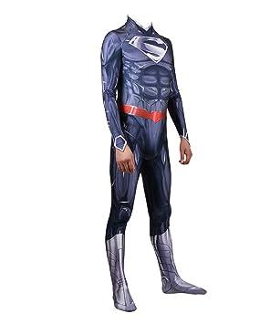Traje De Musculoso Azul De Superman Medias De Cosplay ...