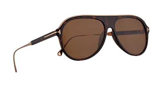 Amazon.com: Tom Ford FT0624 Nicholai-02 - Gafas de sol ...