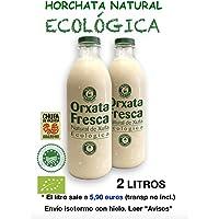 2 L. Horchata Natural Ecológica Món Orxata (con