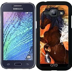 Funda para Samsung Galaxy J1 2015 (SM-J100) - Hermoso Caballo by nicky2342