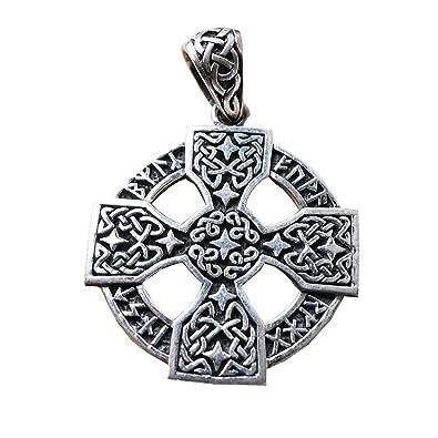 Anhänger Kelten Kreuz Symbol Zeichen Lebenskreuz 925 Sterling