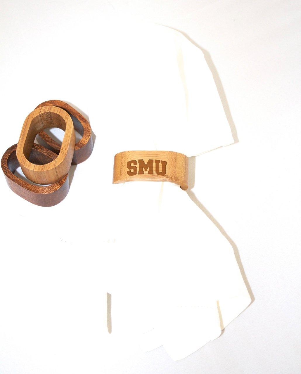 Southern Methodist Napkin Rings