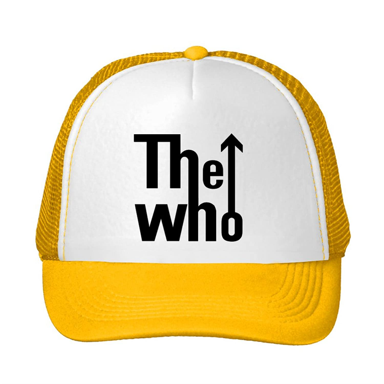 The Who 2016 Tour Logo Printing Mesh Sun Caps Snapback Hats