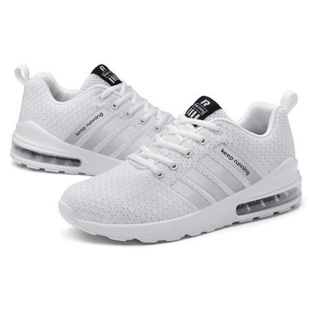 Männer Laufschuhe Leichter Athletischer Trainingssport Turnschuhe Luftkissen Gestricktes, Atmungsaktives Fashion Walking Textil Schuhe