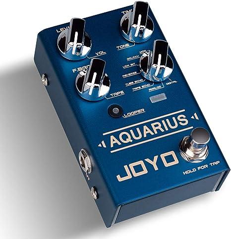 JOYO Pedal profesional para guitarra con múltiples efectos ...