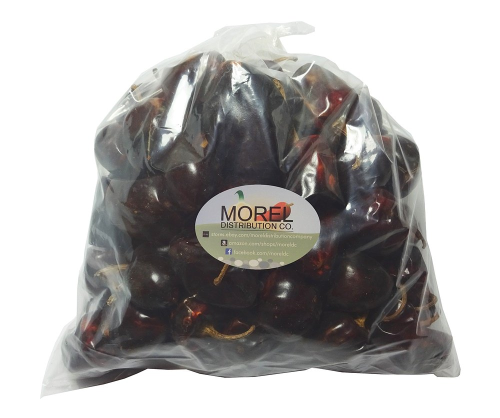 Dried Cascabel Chili Pepper (Chile Cascabel) Bulk Weights: 2 Lbs, 5 Lbs, and 10 Lbs!! (2 LBS) by Morel Distribution Company (Image #2)