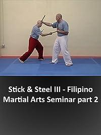 Stick & Steel III – Filipino Martial Arts Seminar part 2