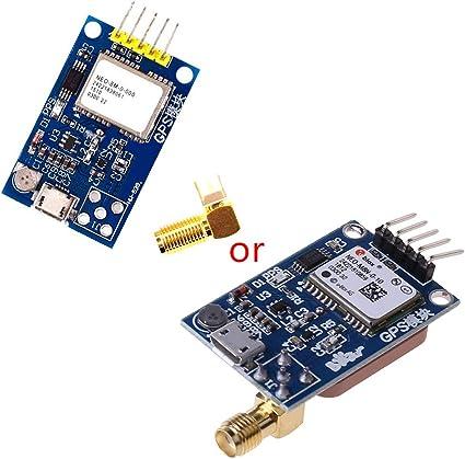 Shefii Mini módulo de satélite GPS 51 NEO-6M/7M/8M interfaz ...