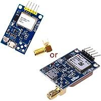 FATTERYU Mini módulo de satélite GPS 51 NEO-6M / 7M / 8M Interfaz de Antena Doble para STM32 C51