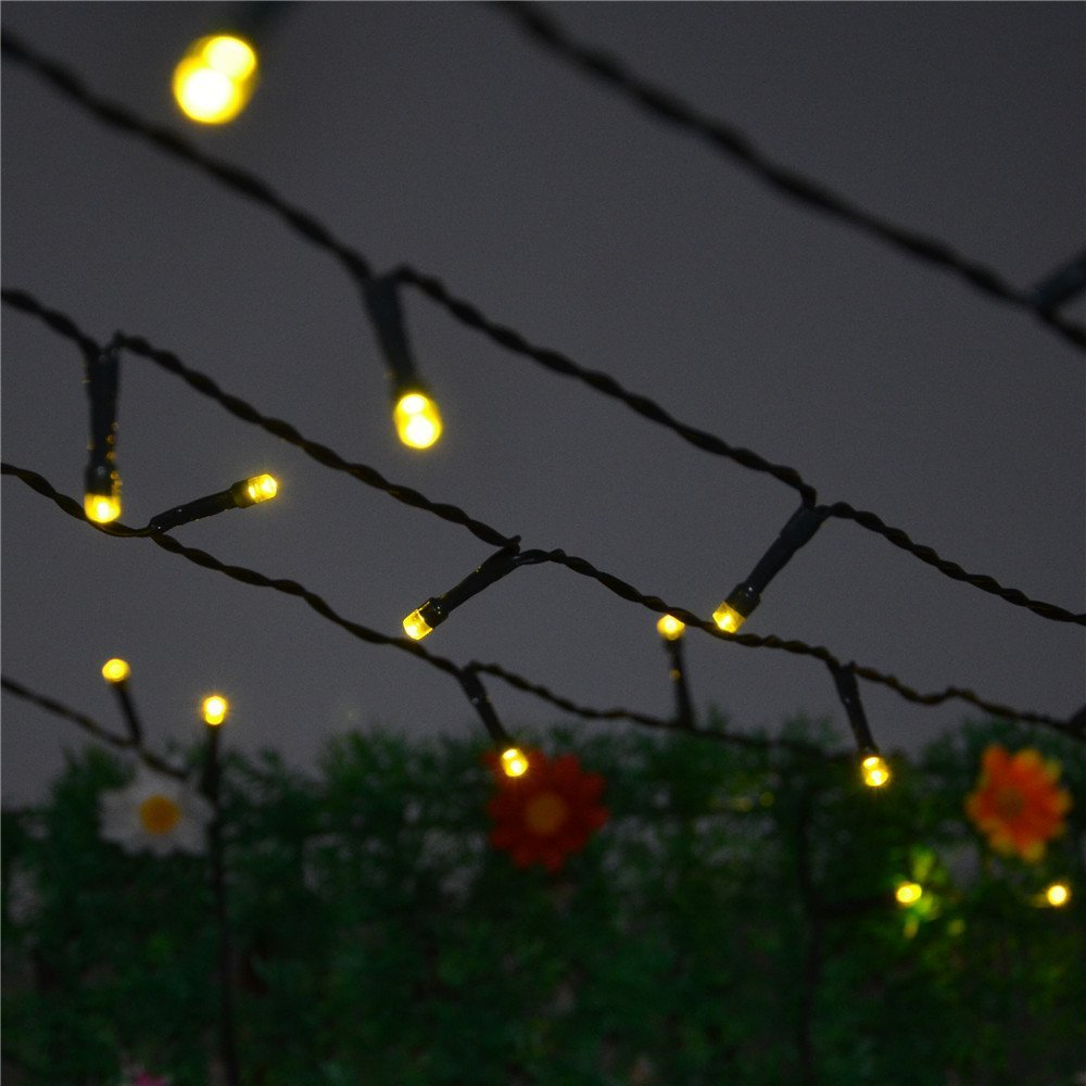 amazon com inst solar powered led string light ambiance lighting