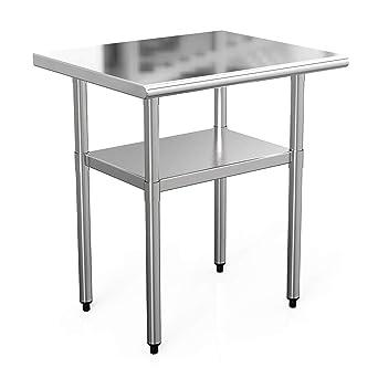 Nurxiovo NSF mesa de trabajo cocina Prep banco de trabajo ...