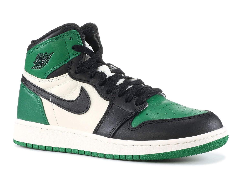 c12f6923c1feb5 Nike AIR Jordan 1 Retro HIGH OG (GS)  Pine Green  - 575441-302  Amazon.ca   Shoes   Handbags
