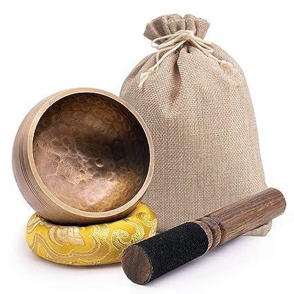Amazon.com: DomeStar - Cuenco tibetano para meditación ...