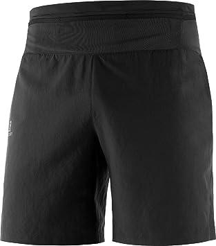 Pantalón corto running Salomon Xa Training negro hombre