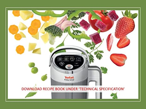 Tefal White BL841140 Automatic Easy Soup Maker 1.2 Litres 1000 ...