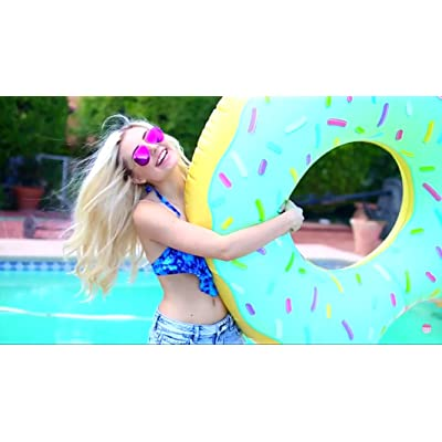 Beach Toy ® - Flotador hinchable para piscina DONUT: Juguetes y juegos