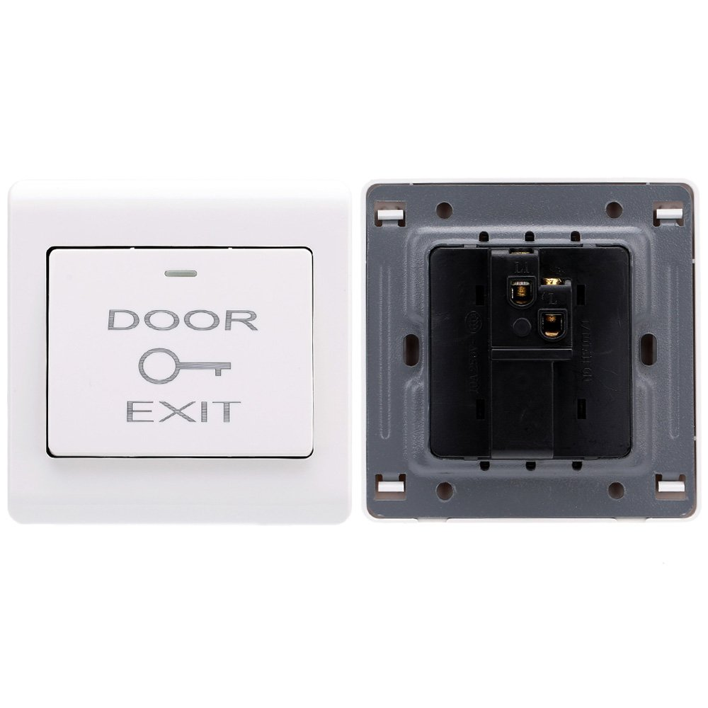 KKmoon Full Set RFID Door Access Control System With Electric Magnetic Lock DC12V Power Supply Proximity Door Entry keypad with EXIT Button