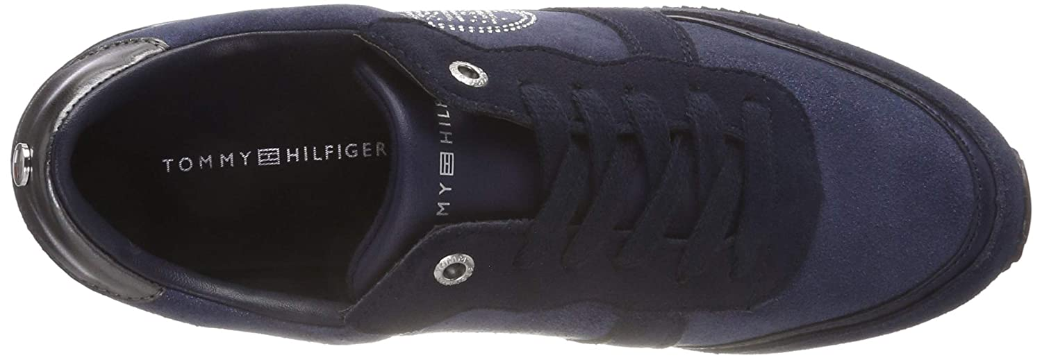 Tommy Hilfiger Women s Tommy Stud City Sneaker Low-Top  Amazon.co.uk  Shoes    Bags 613fe9b68e