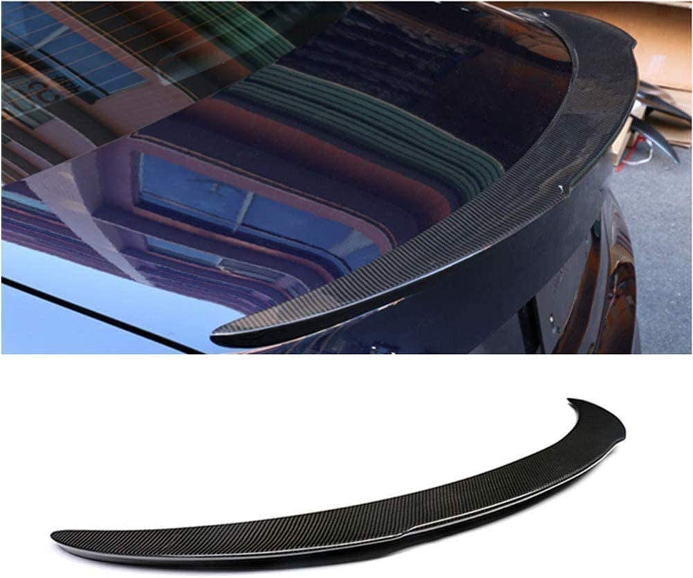 Aileron arri/ère en fibre de carbone pour Cla Class C117 Sedan Base Sport Cla250 Cla45 Amg 2014-2019 Trunk Lip Highkick Wing