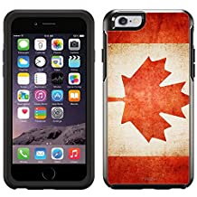 Skin Decal for OtterBox Symmetry Apple iPhone 6 Case - Canada Vintage Flag