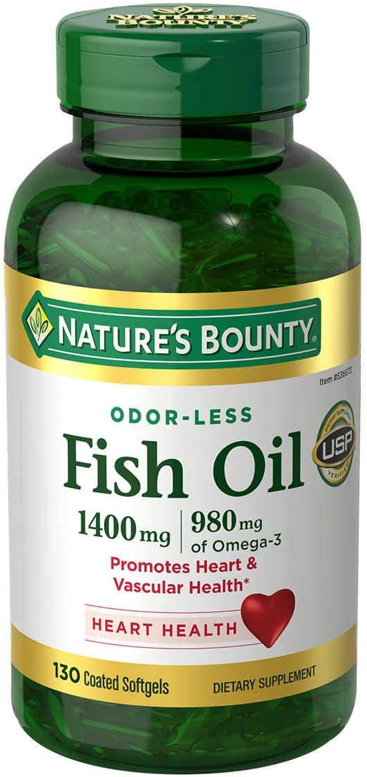 NB Fish Oil 1400 mg Omega-3 Softgels