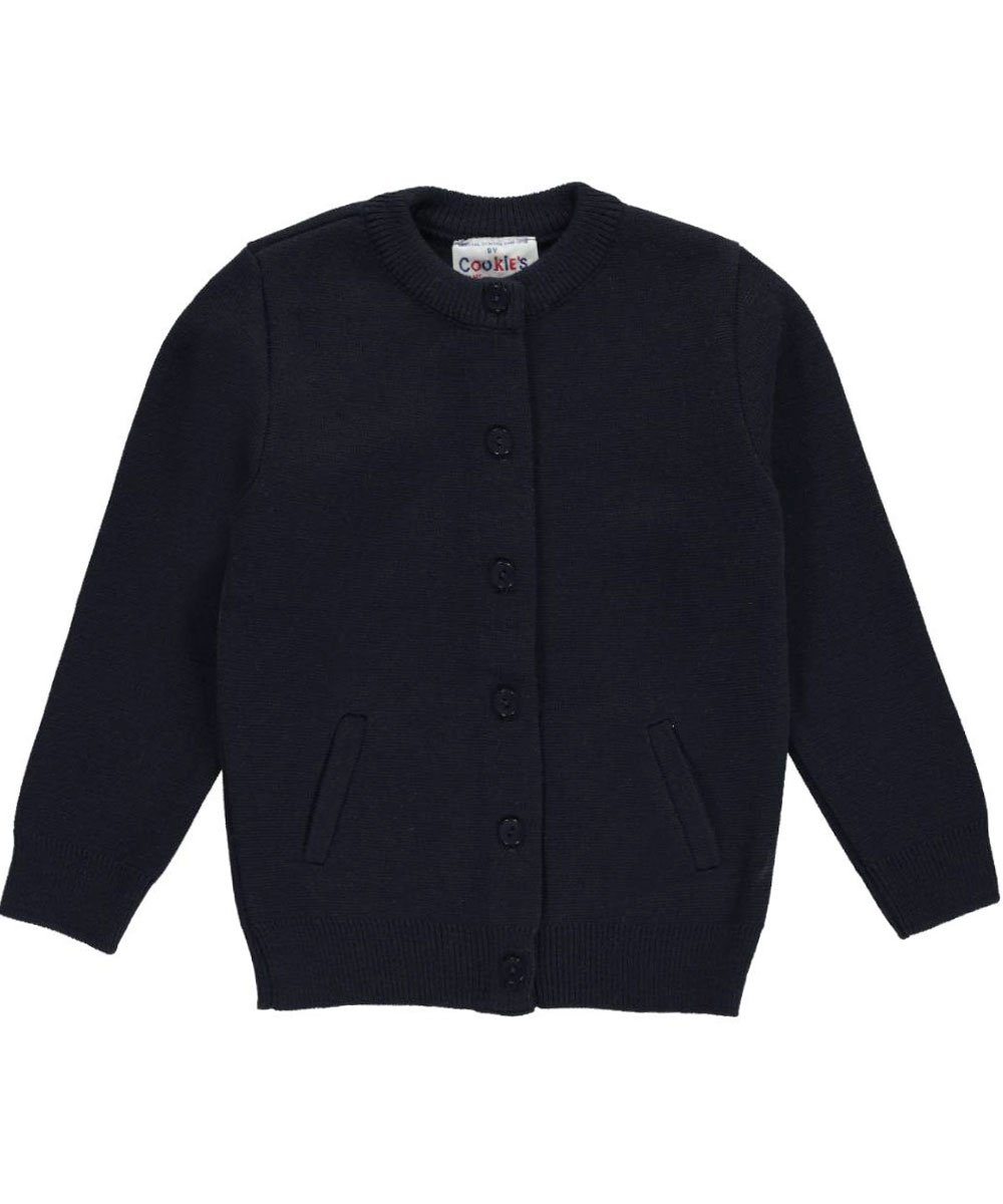 Cookie's Brand Little Boys' Cardigan Sweater - navy, 4-5