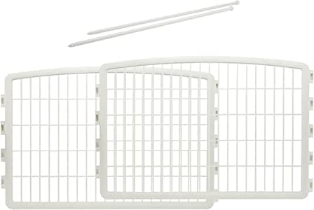 IRIS 24'' Exercise 4-Panel Pet Playpen with Door