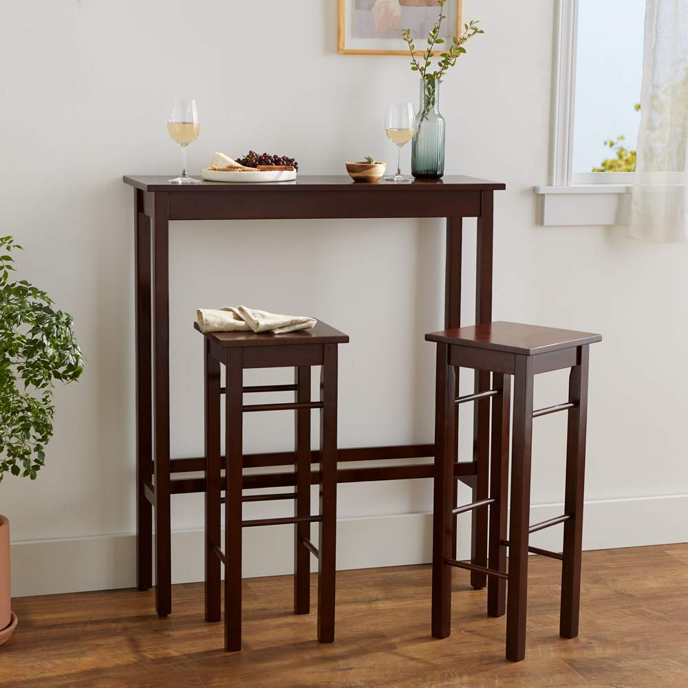 Amazon.com: AmazonBasics - Juego de mesa de desayuno (3 ...