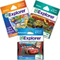 LeapFrog Explorer Learning Game Grade School Readiness Bundle: Science, Math and Reading - Boy