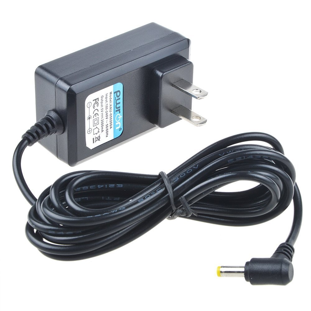 PwrON 6.6 Feet 5V AC-DC Adapter for HP Digital Photo Frame Models DF730, DF810,DF840, DF1010 Power Supply Cord (Note: Not Fit DF720 DF780 DF820 DF10000) COMINU031372