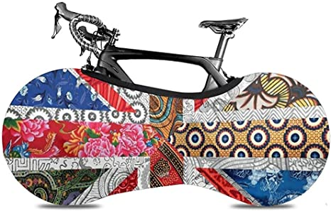Funda para Bicicleta,Union Jack Flag UK Mandala Art Cubiertas ...