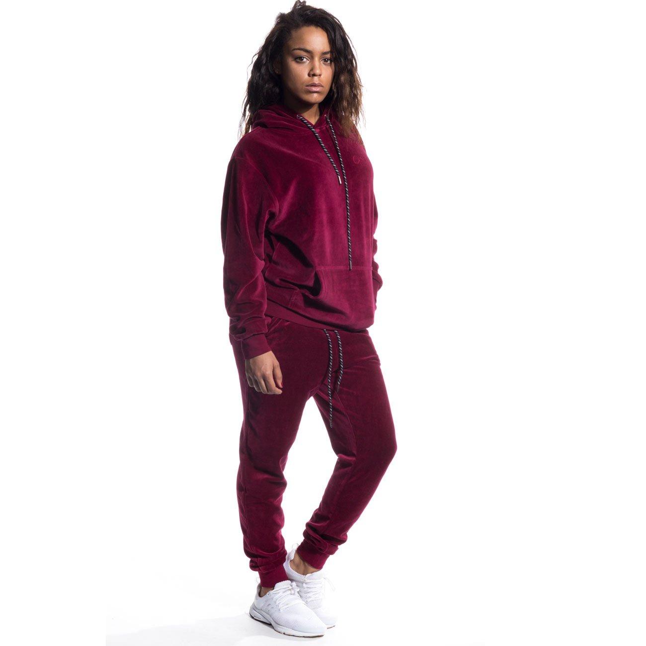 Grimey Pantalon Chandal Velour Sweatpants FW16 Wine-XS: Amazon.es ...