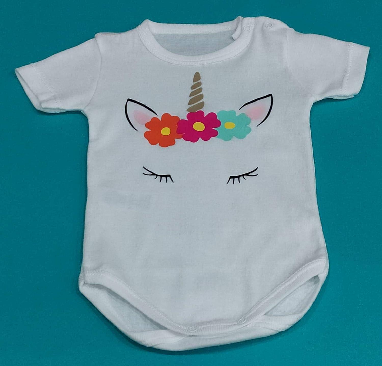 Body de bebé personalizado UNICORNIO: Amazon.es: Handmade
