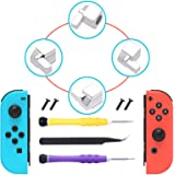 [New Version] Replacement Latches Compatible with Switch OLED/Switch JoyCons, Lock Buckles Repair Tool Kit Replacement for Sw
