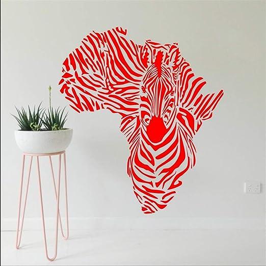 Qsdfcc Mapa del Mundo Grande Atlas Global Vinilo Arte Wallpaper ...