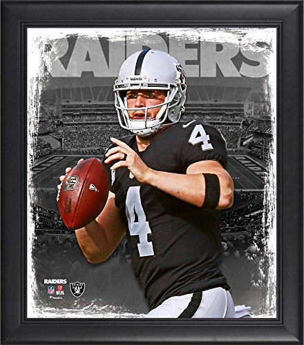Derek Carr Oakland Raiders Framed 15