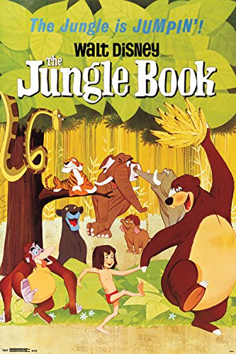 Trends International The Jungle Book One Sheet Collector's Edition Wall Poster 24