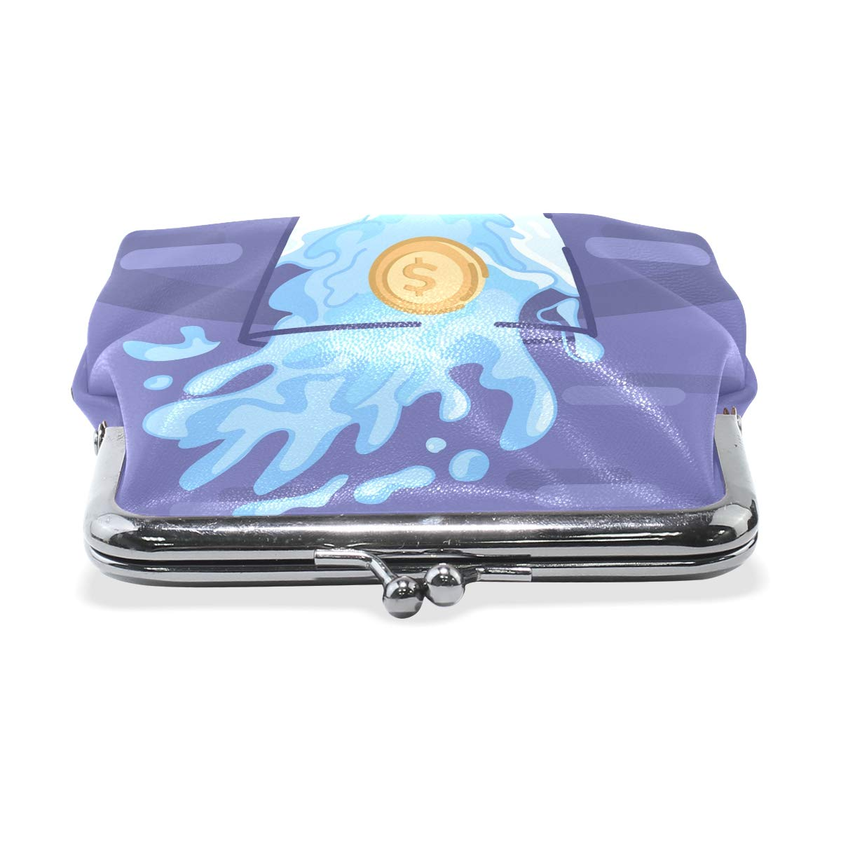 LALATOP Impact On Water Womens Coin Pouch Purse wallet Card Holder Clutch Handbag