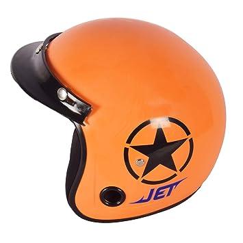 Jet Harley Davidson Motorbike Helmet Reduced Dimensions Orange S Orange