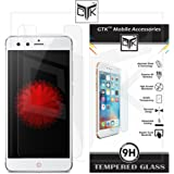 TheGiftKart™ Ultra Clear Premium HD Tempered Glass Screen Protector with Rounded Edges (Precise Cut-Outs for Front Camera & Sensor) for Nubia Z11 Mini