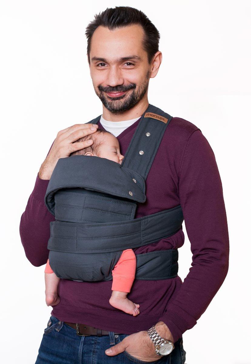 Portabebés, de vientre y cadera gris Talla:S/M product image