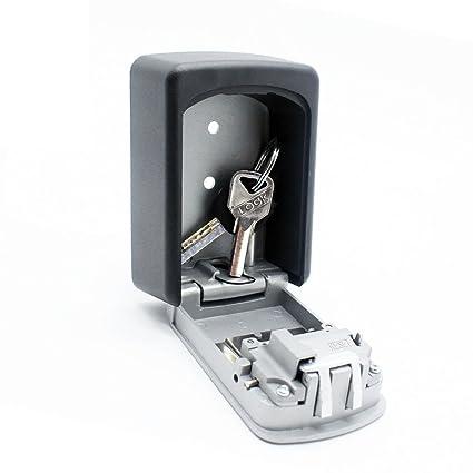 caja fuerte de llaves montada en la pared, Caja de almacenamiento de llaves con combinación