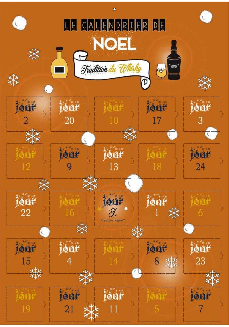 Calendrier de l'avent spécial Tradition du Whisky Calendrier Evenement