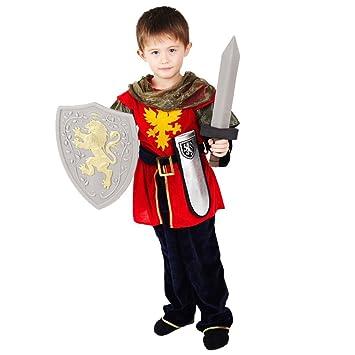 Ritter Verkleidung für Jungen - Hochwertiges, mittelalterliches ...