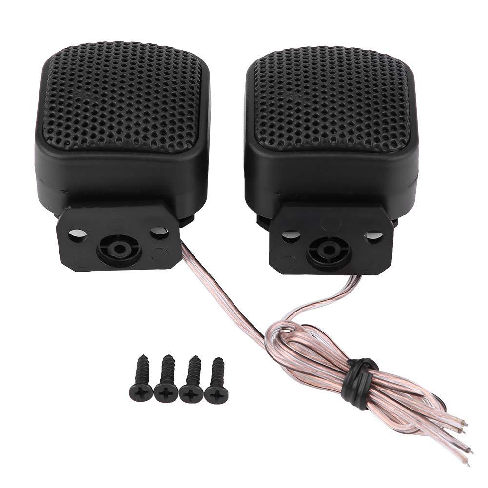 KIMISS 2 * Tweeters de altavoz universal sú per potencia, Altavoz de audio cuadrado del coche