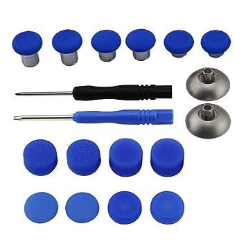 GZ HaiQianXin 18 Piezas de Repuesto Thumbsticks Kit de Piezas de ...