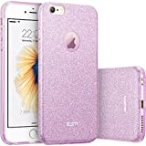 iPhone 6s Case, iPhone 6 Case, ESR Makeup Series Bling Glitter Back Cover Protective Bumper Slim Fit Case for 4.7 inches iPhone 6s (2015 Release)/ iPhone 6 (2014 Release) (Purple)