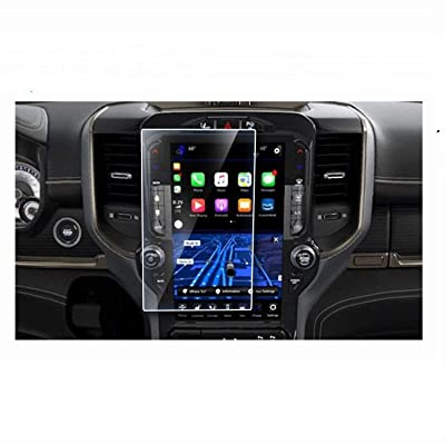Wonderfulhz Screen Protector Compatible with 2020 1500 2500 3500 Uconnect 12 Inch Dodge Ram - Anti Glare Scratch,Shock-Resistant, Navigation Protection Accessories Premium Tempered Glass: GPS & Navigation