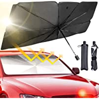 Nitiaukely Sunshade for Car Front Windshield, Car Front Window Heat Insulation Protection, Foldable and Easy to Store…