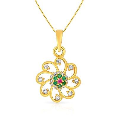 Malabar Gold and Diamonds 22k Yellow Gold Pendant Pendants